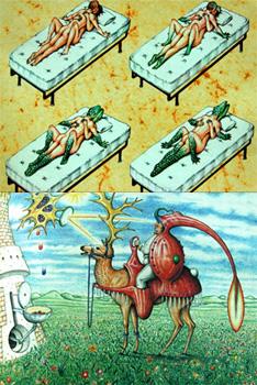 codex seraphinianus couverture détail
