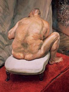 Homme de dos (L. Freud)