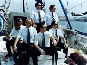Rammstein en bateau