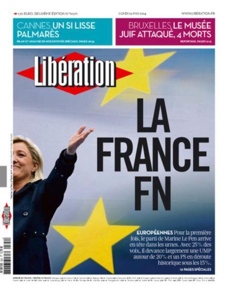 Une Libé France FN